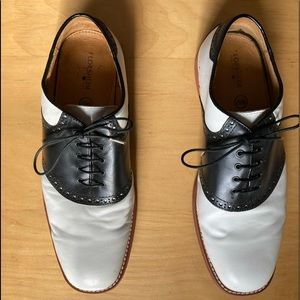 Florsheim Black and White Shoes